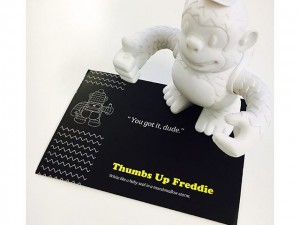 """White like a baby seal in a marshmallow storm"" 👍🏻 #mailchimp #freddie #replyall"