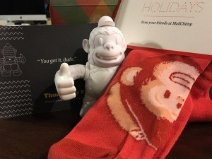 MailChimp goodies were waiting on me when I arrived home from holiday travels! 😍#ThumbsUpFreddie #ReplyAll #MailChimp #Freddie #YouGotItDude #FreddieFeetWarmers
