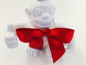 Freddie got a little fancy for the holidays @MailChimp #fanc