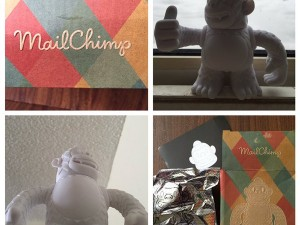 My mailkimp arrived! Thanks @replyall and @MailChimp #mailki