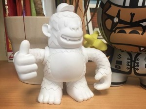 We have a new friend in the office #thumbsupfreddie #mailchimp #mailchimpfreddie