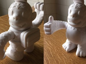 Thanks guys @MailChimp Freddie is liking his new home #thumb