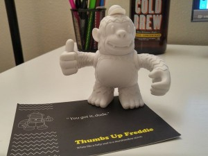 Thanks @MailChimp & @nickabouzeid for Freddie! #SendBett