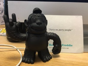 Got my Freddie! Thank you @MailChimp @replyall