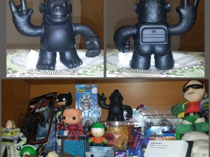 Got my Rock #freddy from #mailchimp for the awesome shelf @
